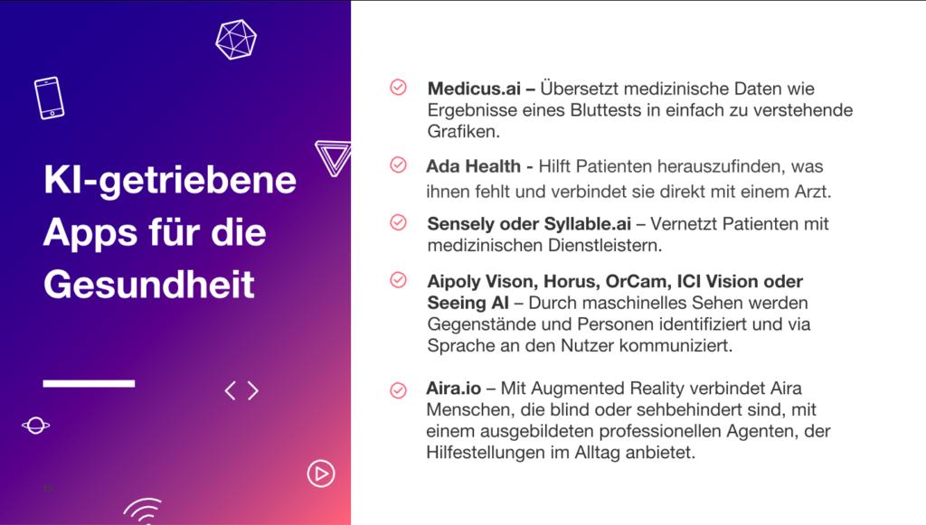 KI-basierte Apps für deine Gesundheit