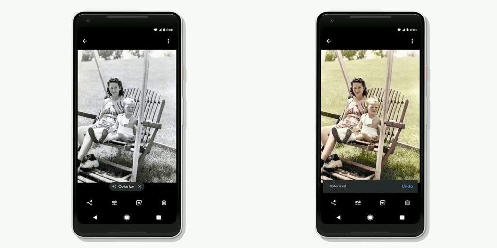 Google Fotos kolorieren